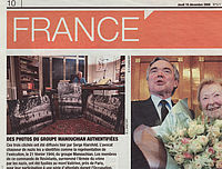 Article de Direct Matin du 10 décembre 2009